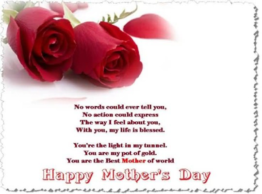 Amazing Message Happy Mother's Day Greetings