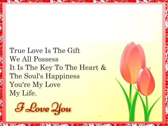Amazing Message Love Wishes Wallpaper