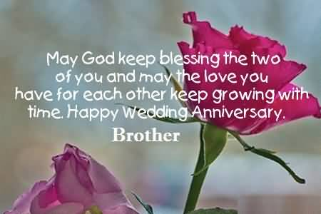 Awesome anniversary wishes for brother wallpaper nicewishes