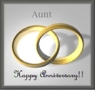 Awesome E-Card Anniversary Wishes For Aunt