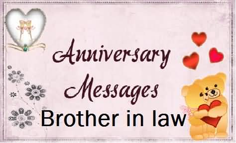 Awesome E-Card Anniversary Wishes For Brother In Law