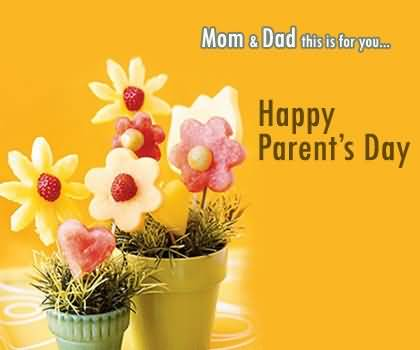 Awesome E-Card Happy Parent's Day