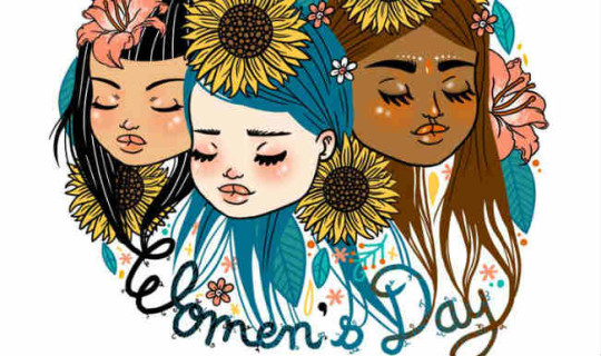 Awesome Graphic Happy Women's Day