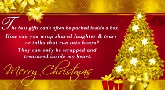 Awesome Greetings Merry Christmas Message