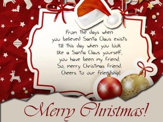 Awesome Greetings Merry Christmas Wishes
