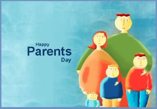 Awesome Happy Parent's Day Graphic