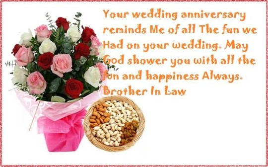 Awesome Message Anniversary Wishes For Brother In Law In Hindi