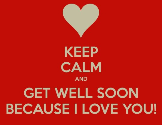 Awesome Message Get Well Soon For Lover