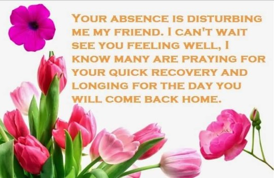 Awesome Message Get Well Soon Wishes Wallpaper
