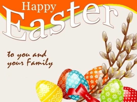 Awesome Message Happy Easter Greetings