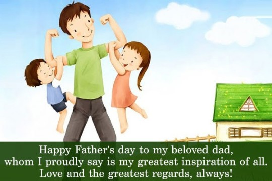 Awesome Wishes Happy Father's Day Image