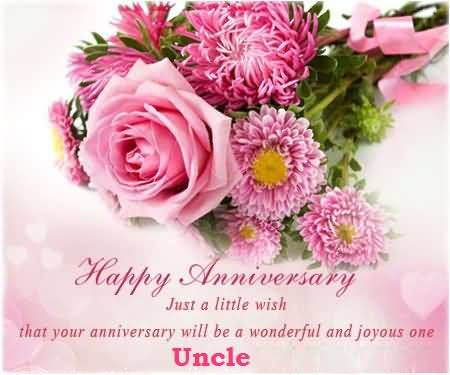 Beautiful Greetings Anniversary Wishes For Best Uncle
