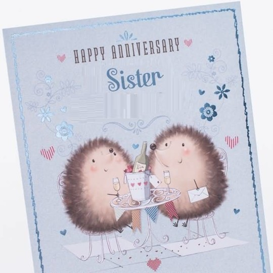 Beautiful Greetings Anniversary Wishes For Sister