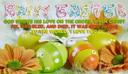 Beautiful Message Happy Easter Greetings