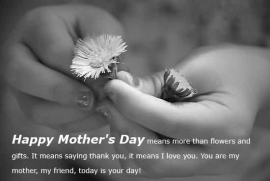 Beautiful Message Happy Mother's Day Image