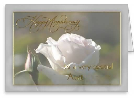 Best Anniversary Wishes For Aunt Greetings