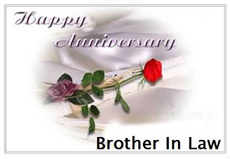 Best Anniversary Wishes For Brother In Law Image