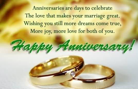 Best Anniversary Wishes For Sister Greetings