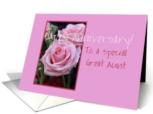 Best E-Card Anniversary Wishes For Aunt