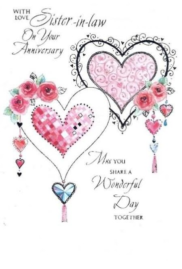 Best Greetings Anniversary Wishes For Sister In Law