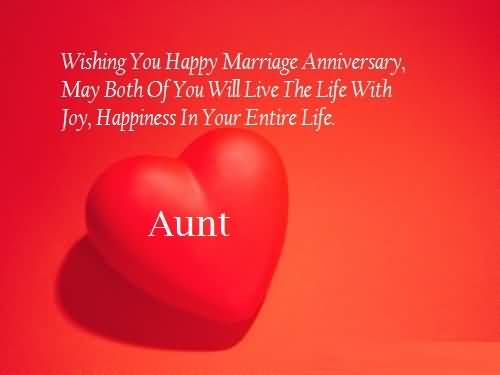 Best Message Anniversary Wishes For Aunt Wallpaper