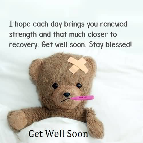 Best Message Get Well Soon Wallpaper