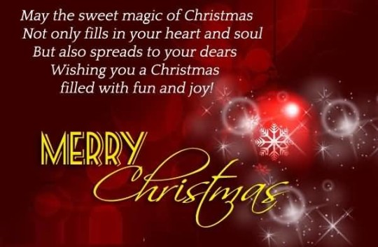 Best Message Merry Christmas Greetings