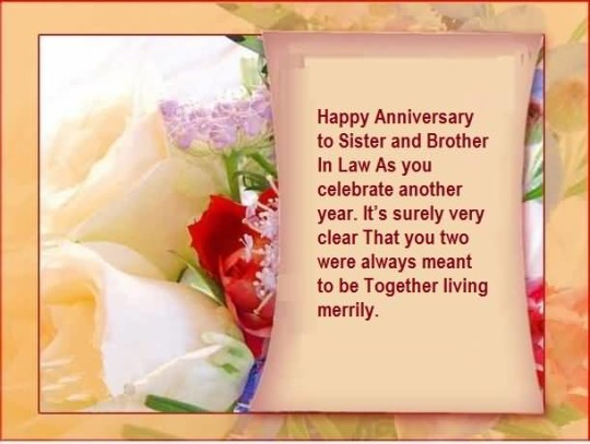 Best Quote Anniversary Wishes For Sister In Law Image