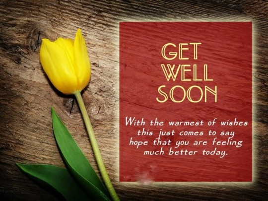 Brilliant Message Get Well Soon Wallpaper