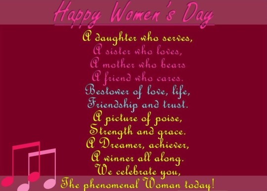 Brilliant Message Happy Women's Day Greetings