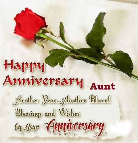 Cool Anniversary Wishes For Aunt Wallpaper