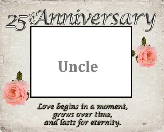 Cool E-Card Anniversary Wishes For Uncle