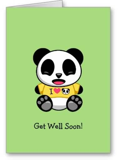 Cool Get Well Soon E-Card