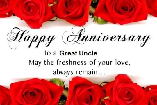 Cool Message Anniversary Wishes For Uncle Wallpaper