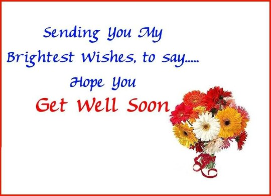 Cool Message Get Well Soon Wallpaper