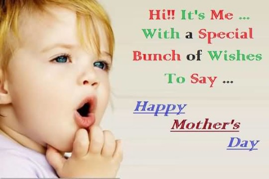 Cute Happy Mother's Day Picture