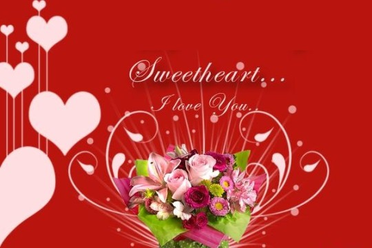Cute Love Wishes For Girlfriend Wallpaper
