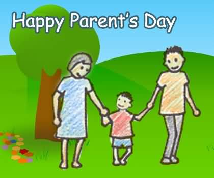 Cute Picture Happy Parent's Day