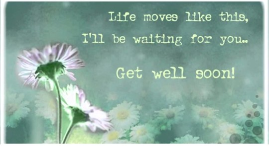 Cute Quote Get Well Soon Wallpaper