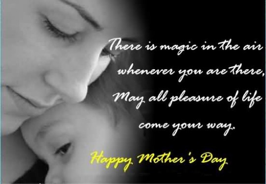 Cute Wishes Happy Mother's Day Wallpaper