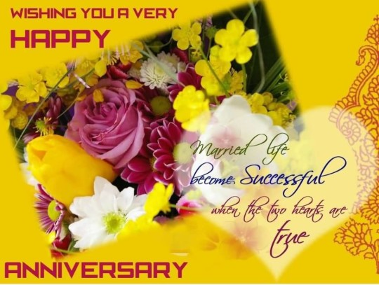 Fabulous Anniversary Wishes For Dear Sister In Law Image