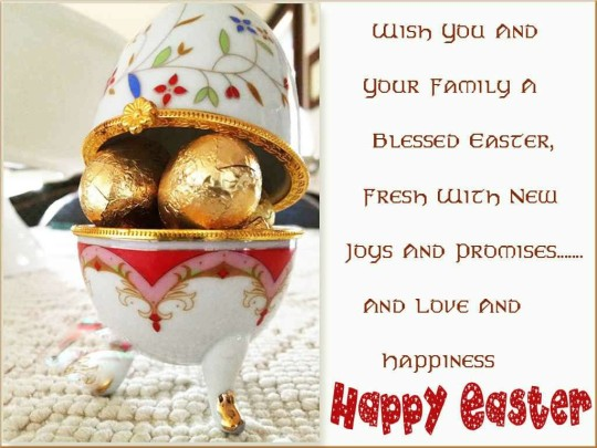 Fabulous Message Happy Easter Greetings