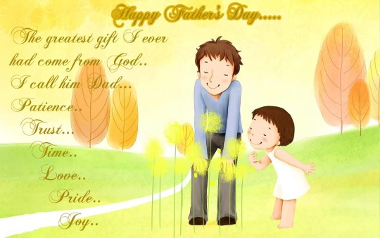Fabulous Message Happy Father's Day Picture