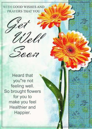 Fabulous Quote Get Well Soon Wallpaper