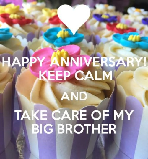 Fantastic Greetings Anniversary Wishes For Brother
