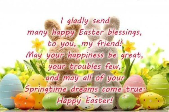Fantastic Message Happy Easter Image