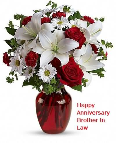 Gorgeous Anniversary Wishes For Brother In Law Greetings