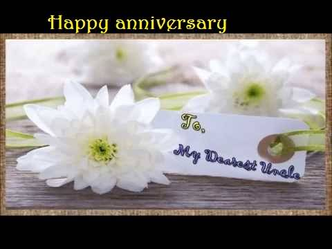 Great Anniversary Wishes For Uncle Image