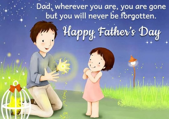 Great Message Happy Father's Day Image