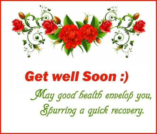 Great Quote Get Well Soon Picture